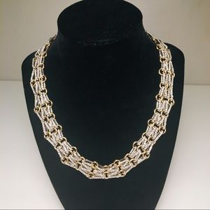 New Banana Republic - Rhinestone Necklace